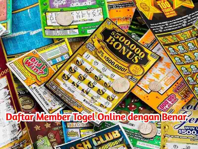 Daftar Member Togel Online